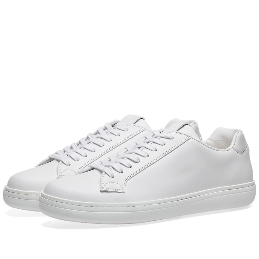 CHURCHS レザー スニーカー メンズ 【 Churchs Mirfield Leather Sneaker 】 White