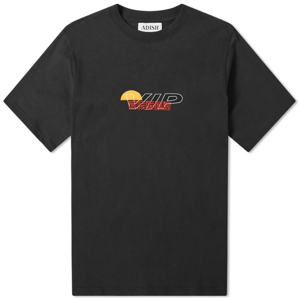 ADISH Tシャツ メンズファッション トップス カットソー メンズ 【 Vip Embroidered Tee 】 Black
