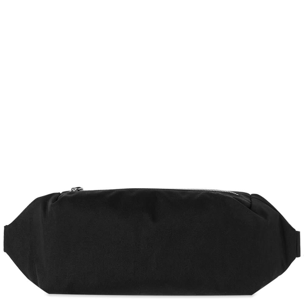 ファッションブランド カジュアル ファッション バッグ 【スーパーセール商品 12/4-12/11】JIL SANDER 【 CANVAS WAIST BAG BLACK 】 バッグ 送料無料