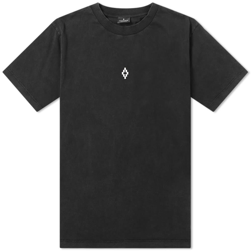 MARCELO BURLON & 【 WINGS BACK PRINT TEE BLACK NEW 】 メンズファッション トップス Tシャツ カットソー 送料無料
