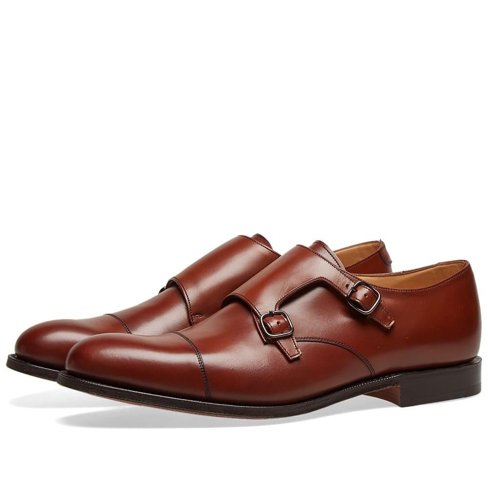 CHURCHS デトロイト メンズ 【 Churchs Detroit Double Monk Shoe 】 Brandy