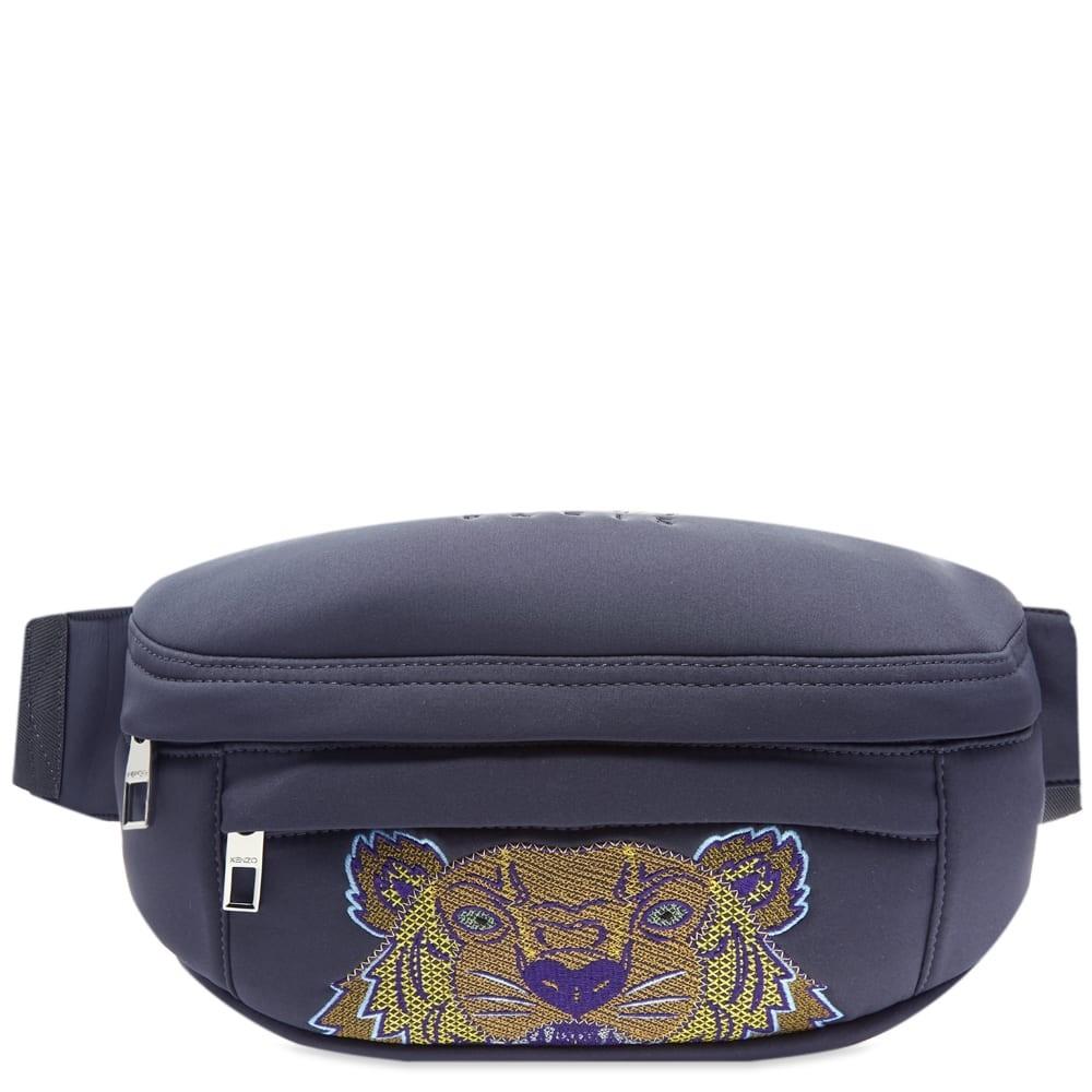 ファッションブランド カジュアル ファッション バッグ 【スーパーセール商品 12/4-12/11】KENZO 【 NEOPRENE TIGER CROSS BODY BAG ANTHRACITE 】 バッグ 送料無料