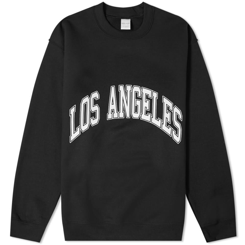 NOON GOONS シティ 【 ALL CITY LOS ANGELES CREW SWEAT BLACK 】 メンズファッション トップス スウェット トレーナー 送料無料