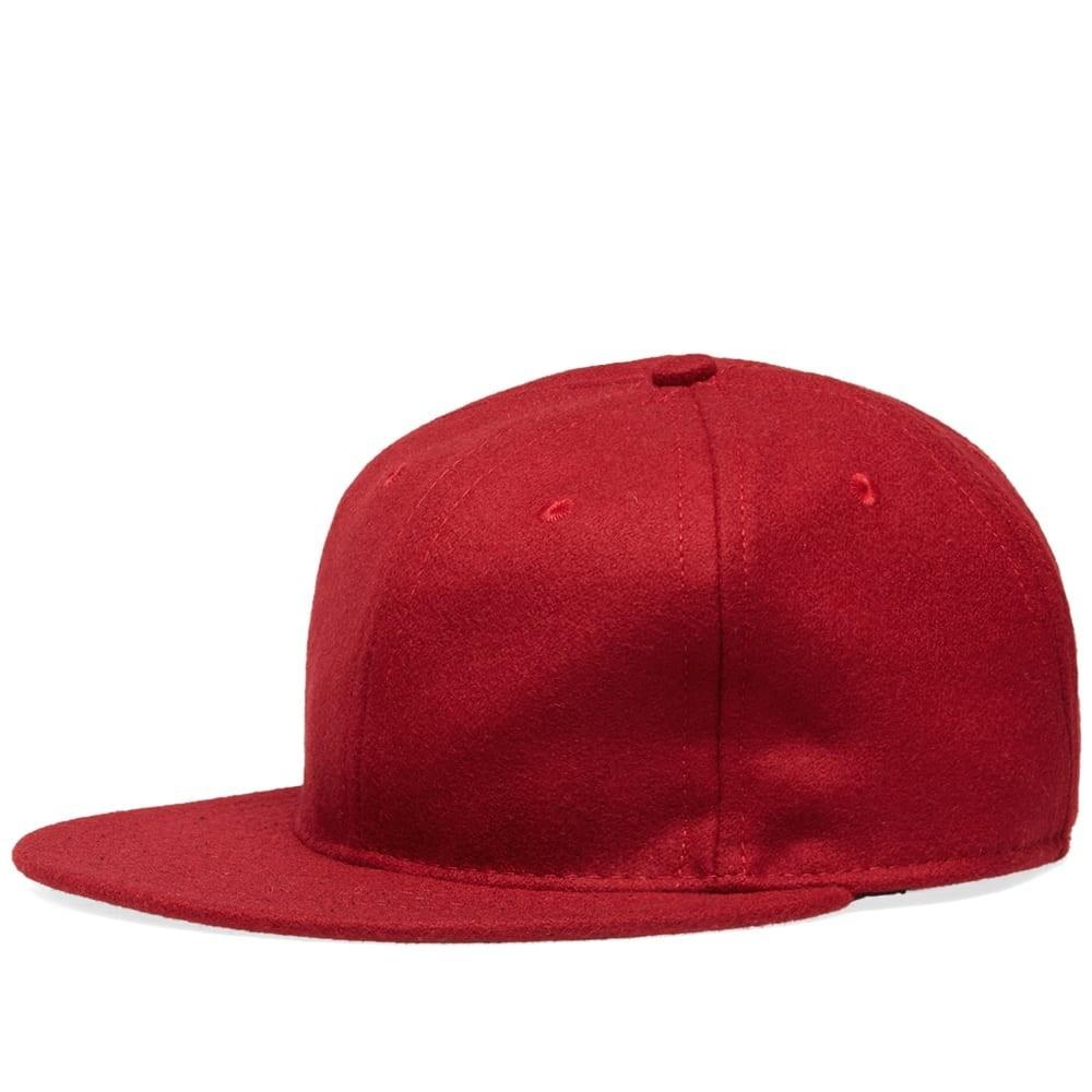 ファッションブランド カジュアル ファッション キャップ ハット EBBETS FIELD FLANNELS フィールド スタンダード 【 STANDARD ADJUSTABLE CAP BURGUNDY WOOL 】 バッグ キャップ 帽子 メンズキャップ 送料無料