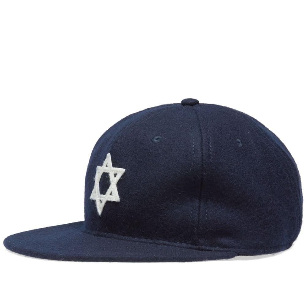 ファッションブランド カジュアル ファッション キャップ ハット EBBETS FIELD FLANNELS フィールド 【 HEBREW ORPHAN ASYLUM 1938 CAP NAVY 】 バッグ キャップ 帽子 メンズキャップ 送料無料