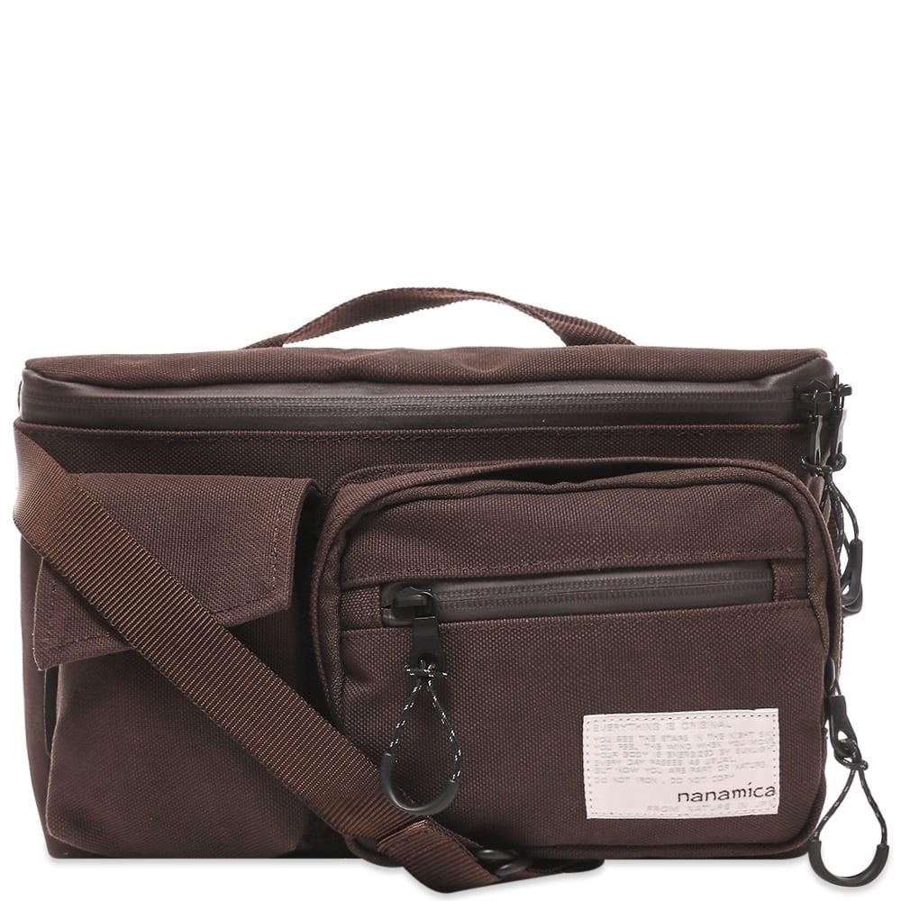 ファッションブランド カジュアル ファッション バッグ 【スーパーセール商品 12/4-12/11】NANAMICA 【 WAIST BAG DARK BROWN 】 バッグ 送料無料