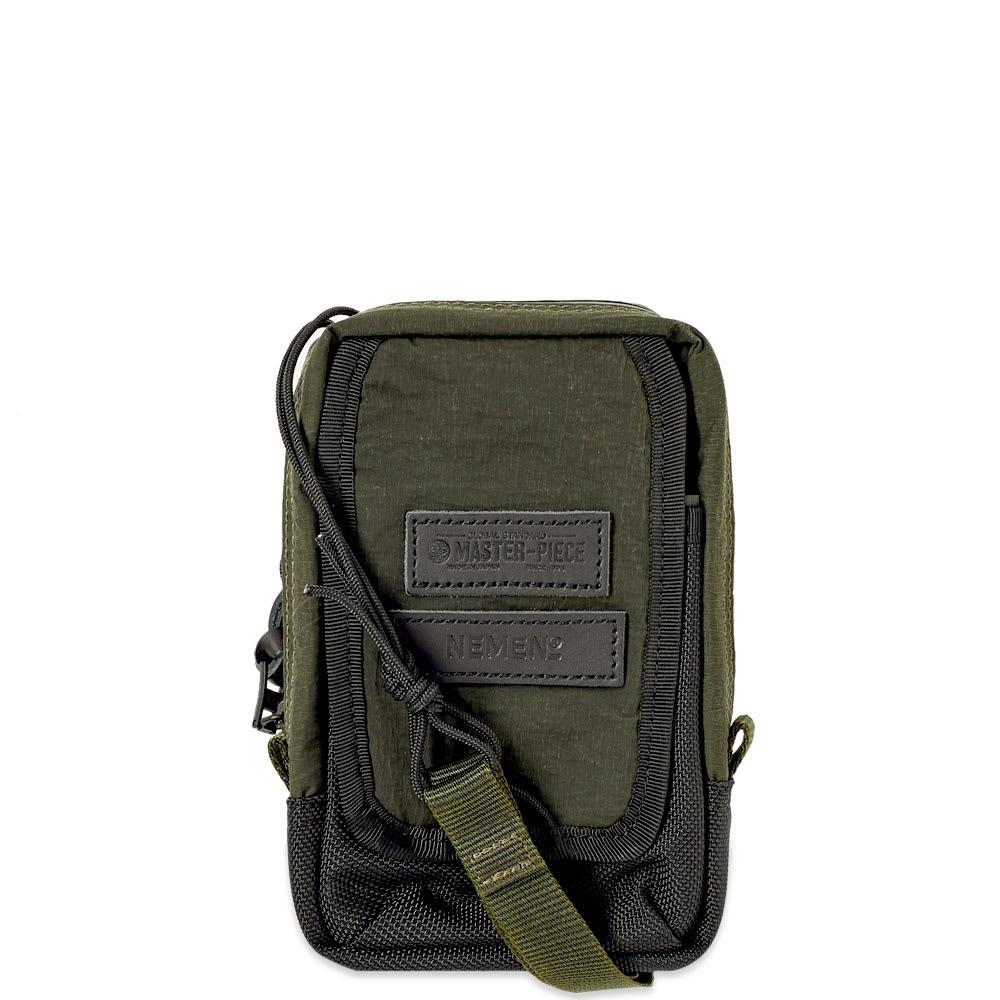 ファッションブランド カジュアル ファッション バッグ 【スーパーセール商品 12/4-12/11】NEMEN テック 【 X MASTERPIECE TECH BAG MILITARY GREEN 】 バッグ 送料無料