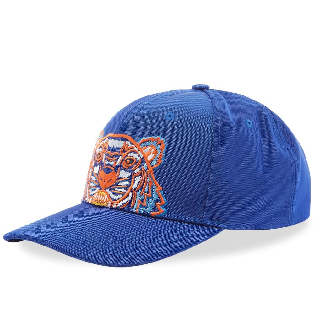 ファッションブランド カジュアル ファッション キャップ ハット KENZO 【 TIGER EMBROIDERED CAP SLATE BLUE 】 バッグ キャップ 帽子 メンズキャップ 送料無料