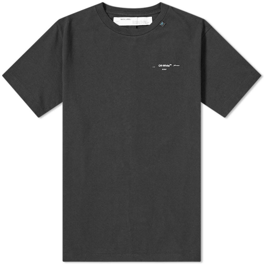 【スーパーセール商品 12/4-12/11】OFF-WHITE 【 OFFWHITE ABSTRACT ARROWS TEE BLACK 】 メンズファッション トップス Tシャツ カットソー 送料無料