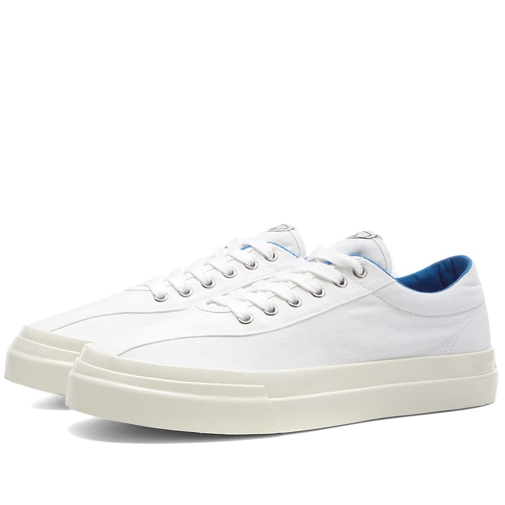 STEPNEY WORKERS CLUB スニーカー メンズ 【 Dellow Canvas Sneaker 】 White & Blue