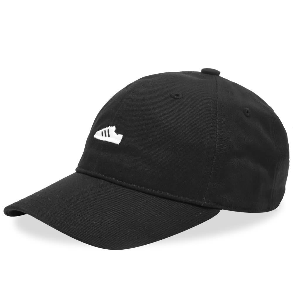 ファッションブランド カジュアル ファッション キャップ ハット アディダス ADIDAS スーパースター  【 SUPERSTAR CAP BLACK WHITE 】 バッグ キャップ 帽子 メンズキャップ 送料無料