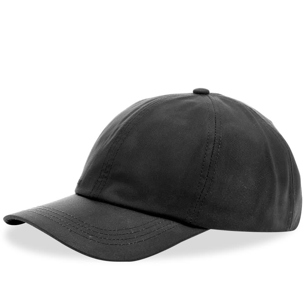 ファッションブランド カジュアル ファッション キャップ ハット バブアー BARBOUR 【 WAX SPORTS CAP BLACK 】 バッグ キャップ 帽子 メンズキャップ 送料無料