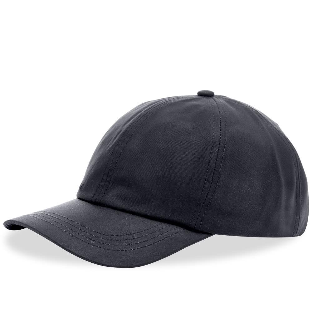 ファッションブランド カジュアル ファッション キャップ ハット バブアー BARBOUR 【 WAX SPORTS CAP NAVY 】 バッグ キャップ 帽子 メンズキャップ 送料無料