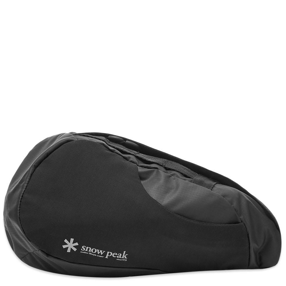 ファッションブランド カジュアル ファッション バッグ 【スーパーセール商品 12/4-12/11】SNOW PEAK 【 SIDE ATTACK BAG BLACK 】 バッグ 送料無料