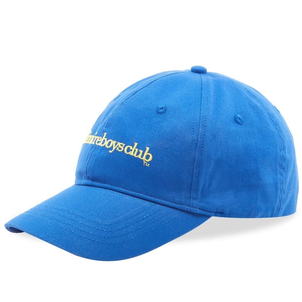 ファッションブランド カジュアル ファッション キャップ ハット ビリオネアボーイズクラブ BILLIONAIRE BOYS CLUB クラブ ロゴ 【 EMBROIDERED LOGO WASHED CAP BLUE 】 バッグ キャップ 帽子 メンズキャップ 送料無料