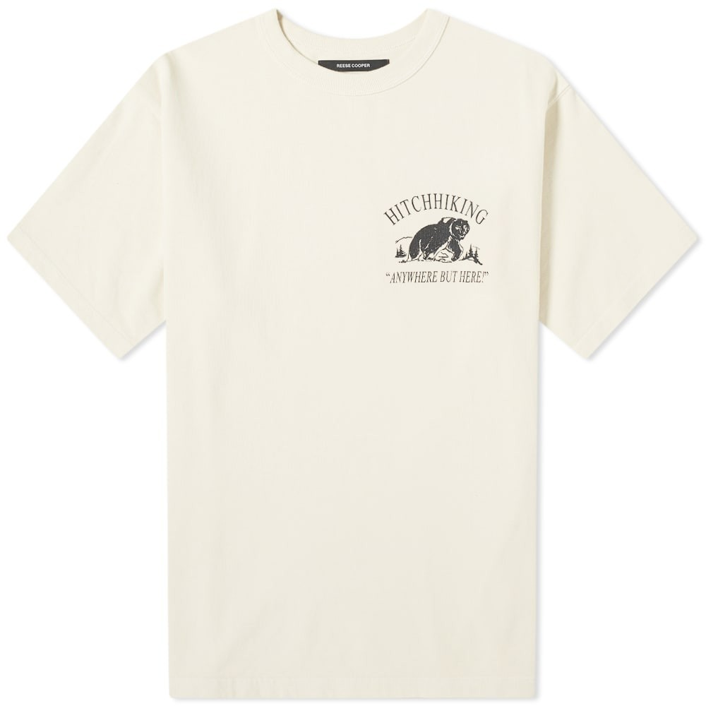 REESE COOPER 【 HITCHHIKING TEE VINTAGE WHITE 】 メンズファッション トップス Tシャツ カットソー 送料無料