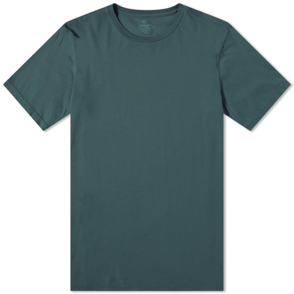 SAVE KHAKI Tシャツ メンズファッション トップス カットソー メンズ 【 Supima Tee 】 Evergreen
