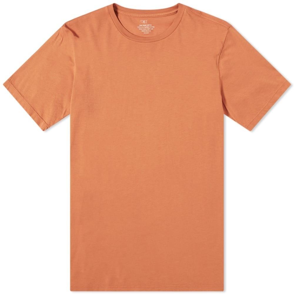 SAVE KHAKI Tシャツ メンズファッション トップス カットソー メンズ 【 Supima Tee 】 Sienna