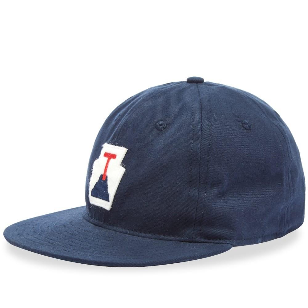 ファッションブランド カジュアル ファッション キャップ ハット EBBETS FIELD FLANNELS フィールド 【 TOBASCO PLATANEROS 1964 COTTON CAP NAVY 】 バッグ キャップ 帽子 メンズキャップ 送料無料