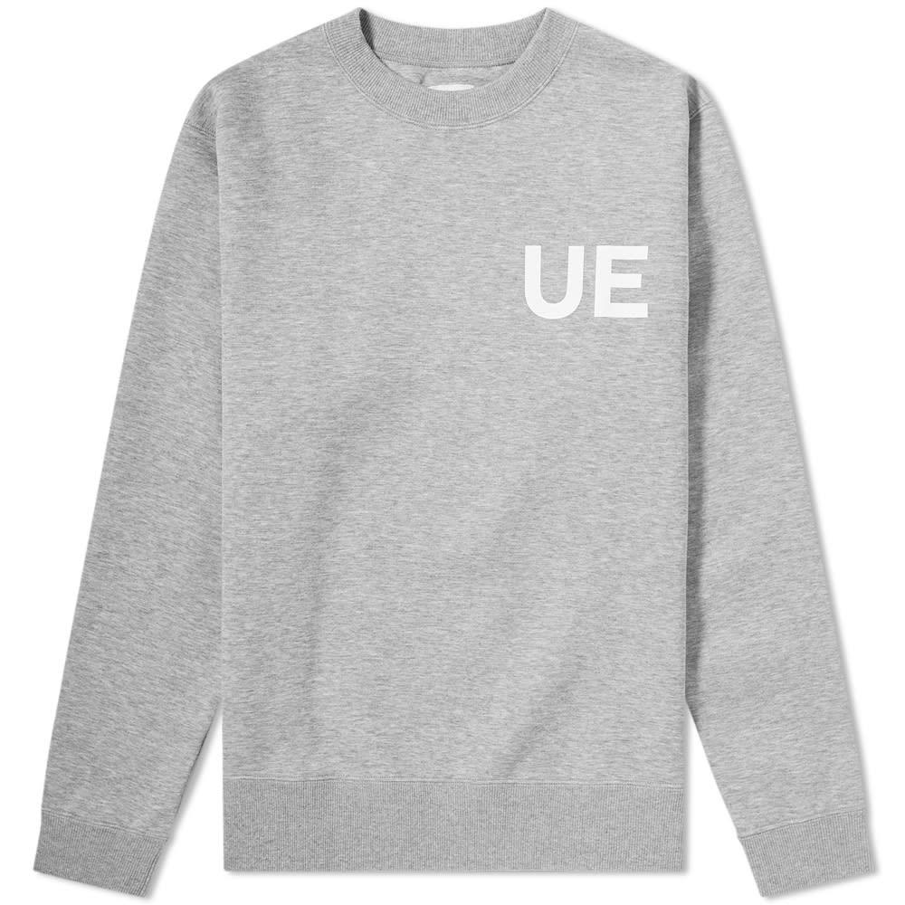 UNIFORM EXPERIMENT 【 832019 POCKET SWEAT GREY 】 メンズファッション トップス スウェット トレーナー 送料無料