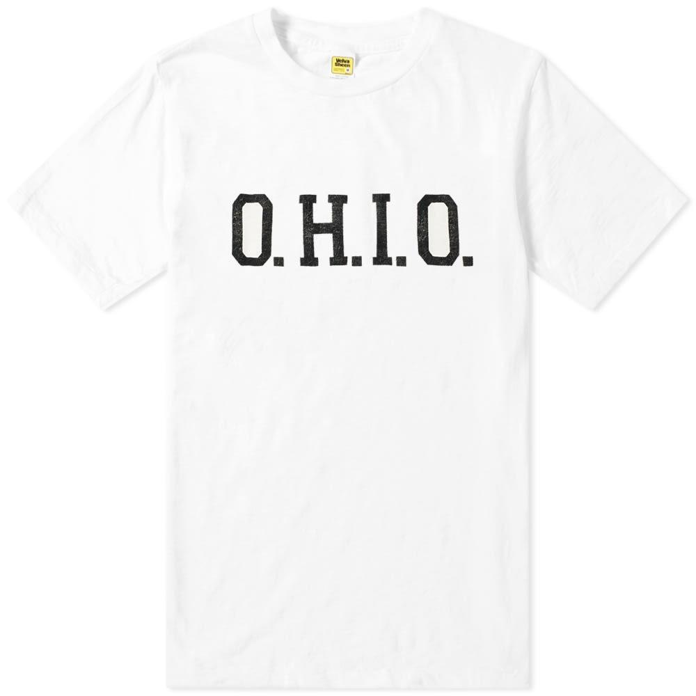 【NeaYearSALE1/1-1/5】VELVA SHEEN O.H.I.O. 【 TEE WHITE 】 メンズファッション トップス Tシャツ カットソー 送料無料