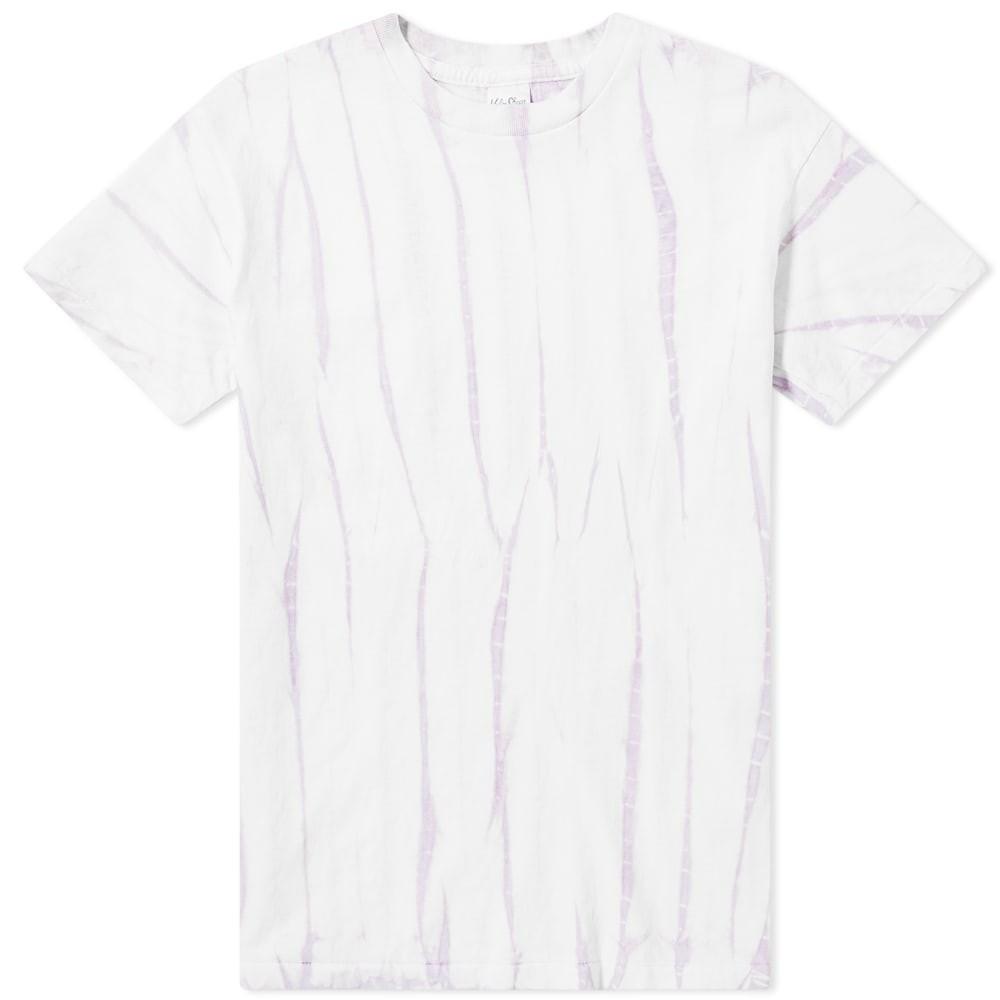 VELVA SHEEN Tシャツ メンズファッション トップス カットソー メンズ 【 Bamboo Tie-dye Tee 】 Lilac