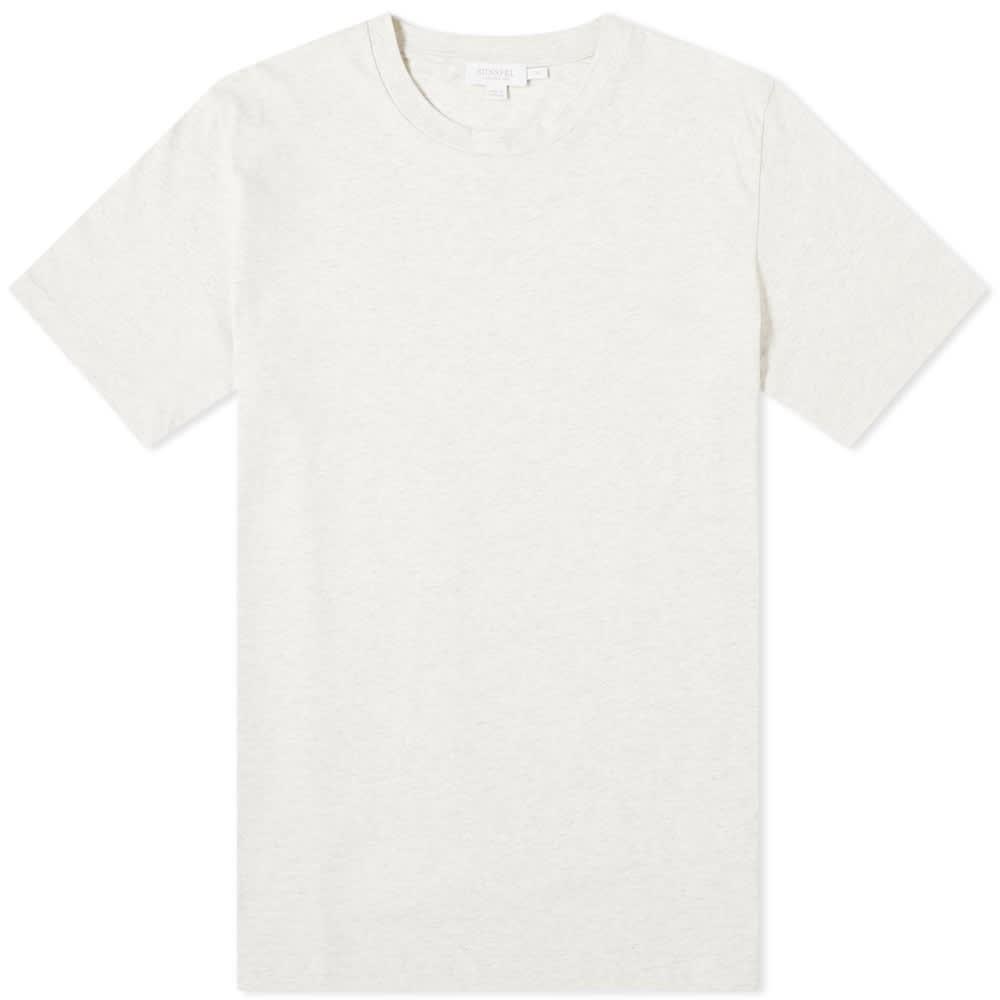 SUNSPEL Tシャツ メンズファッション トップス カットソー メンズ 【 Organic Riviera Tee 】 Archive White Melange