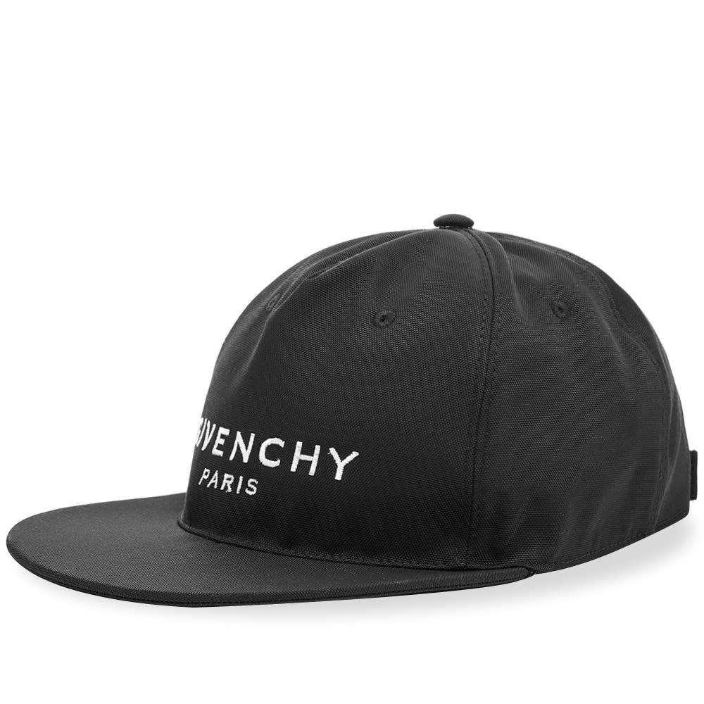 ファッションブランド カジュアル ファッション キャップ ハット GIVENCHY クラシック ロゴ  【 CLASSIC LOGO CAP BLACK WHITE 】 バッグ キャップ 帽子 メンズキャップ 送料無料