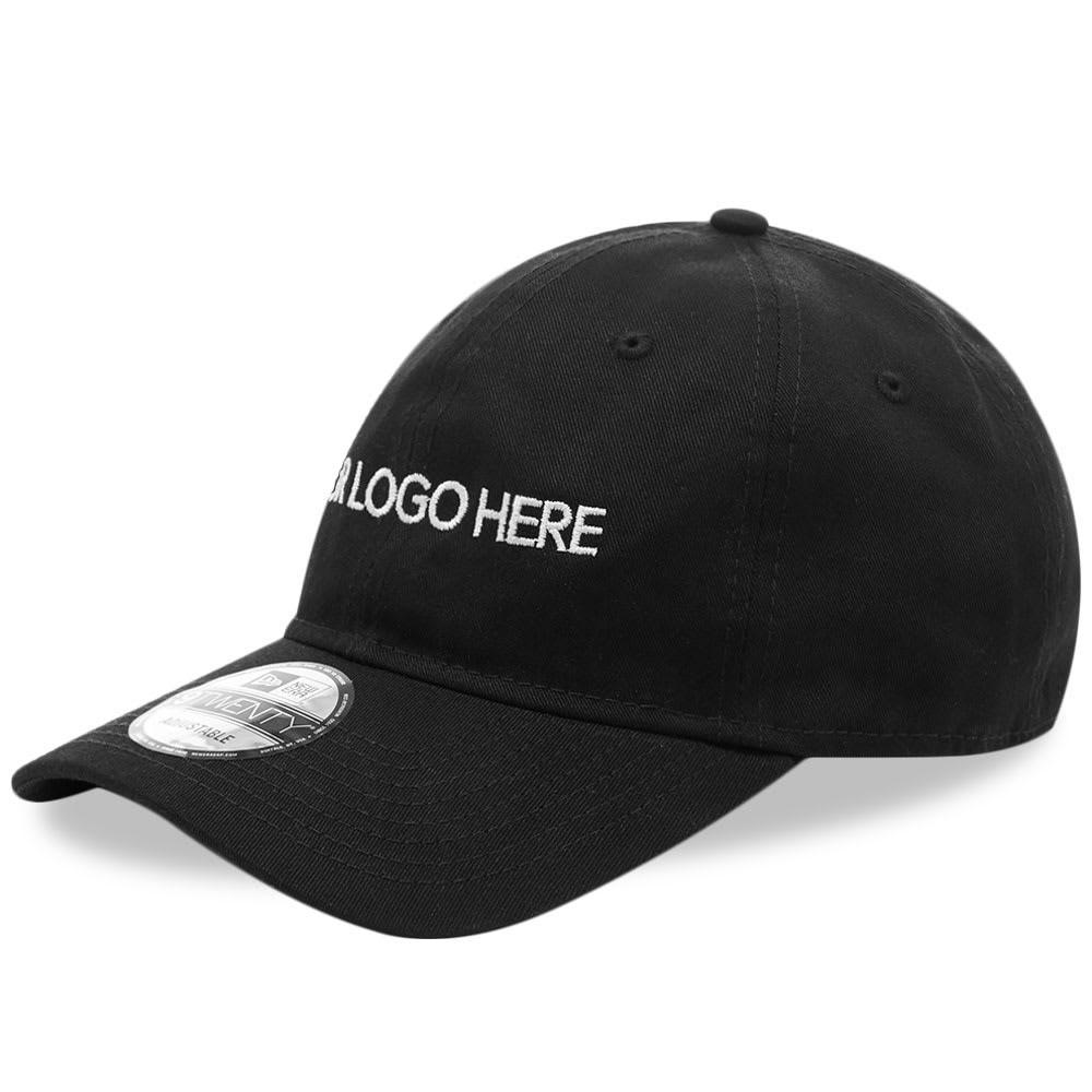 ファッションブランド カジュアル ファッション キャップ ハット IDEA ロゴ 【 X NEW ERA 9TWENTY YOUR LOGO HERE CAP BLACK 】 バッグ キャップ 帽子 メンズキャップ 送料無料