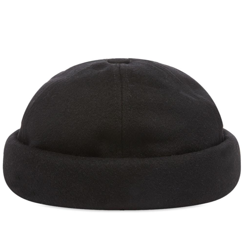ファッションブランド カジュアル ファッション キャップ ハット JUNYA WATANABE MAN B・・TON CIR・・ 【 X BEAVER WOOL CAP BLACK 】 バッグ キャップ 帽子 メンズキャップ 送料無料
