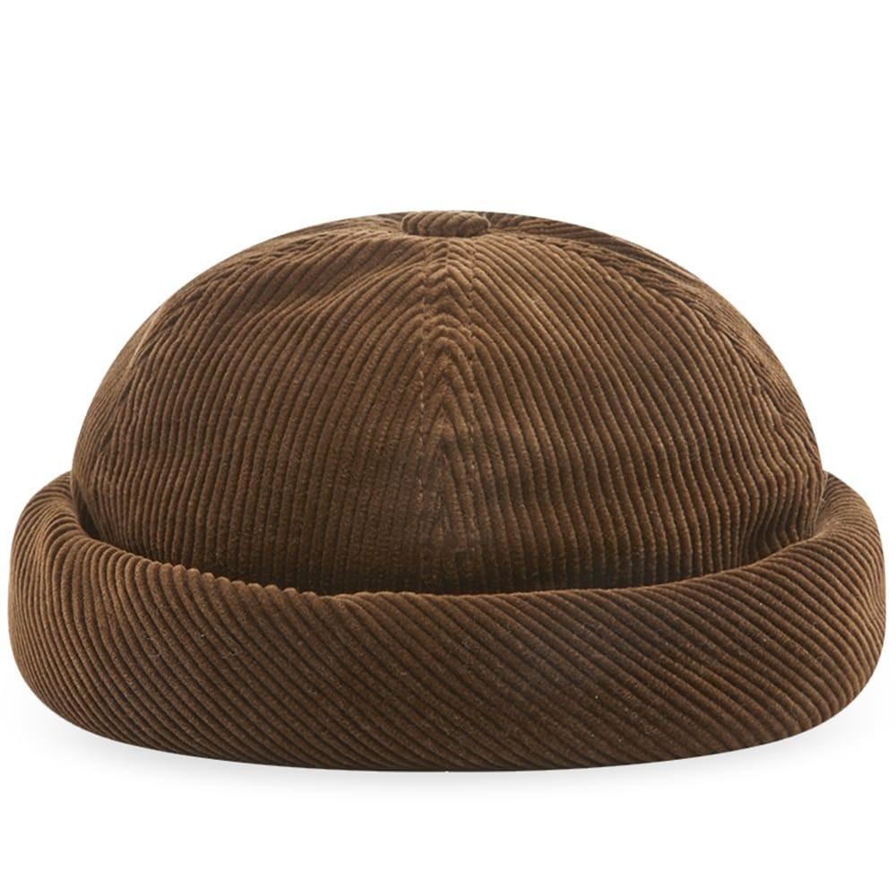 ファッションブランド カジュアル ファッション キャップ ハット JUNYA WATANABE MAN B・・TON CIR・・ 【 CORD CAP BROWN 】 バッグ キャップ 帽子 メンズキャップ 送料無料