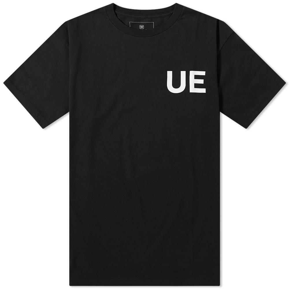 【スーパーセール中! 6/11深夜2時迄】UNIFORM EXPERIMENT Tシャツ メンズファッション トップス カットソー メンズ 【 832019 Tee 】 Black