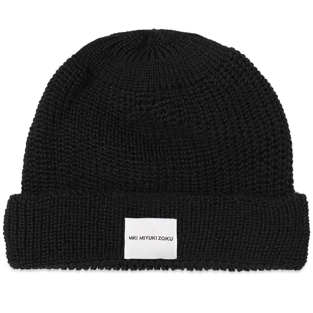 ファッションブランド カジュアル ファッション キャップ ハット MKI ウォッチ 時計 【 WATCH CAP BLACK 】 バッグ キャップ 帽子 メンズキャップ 送料無料