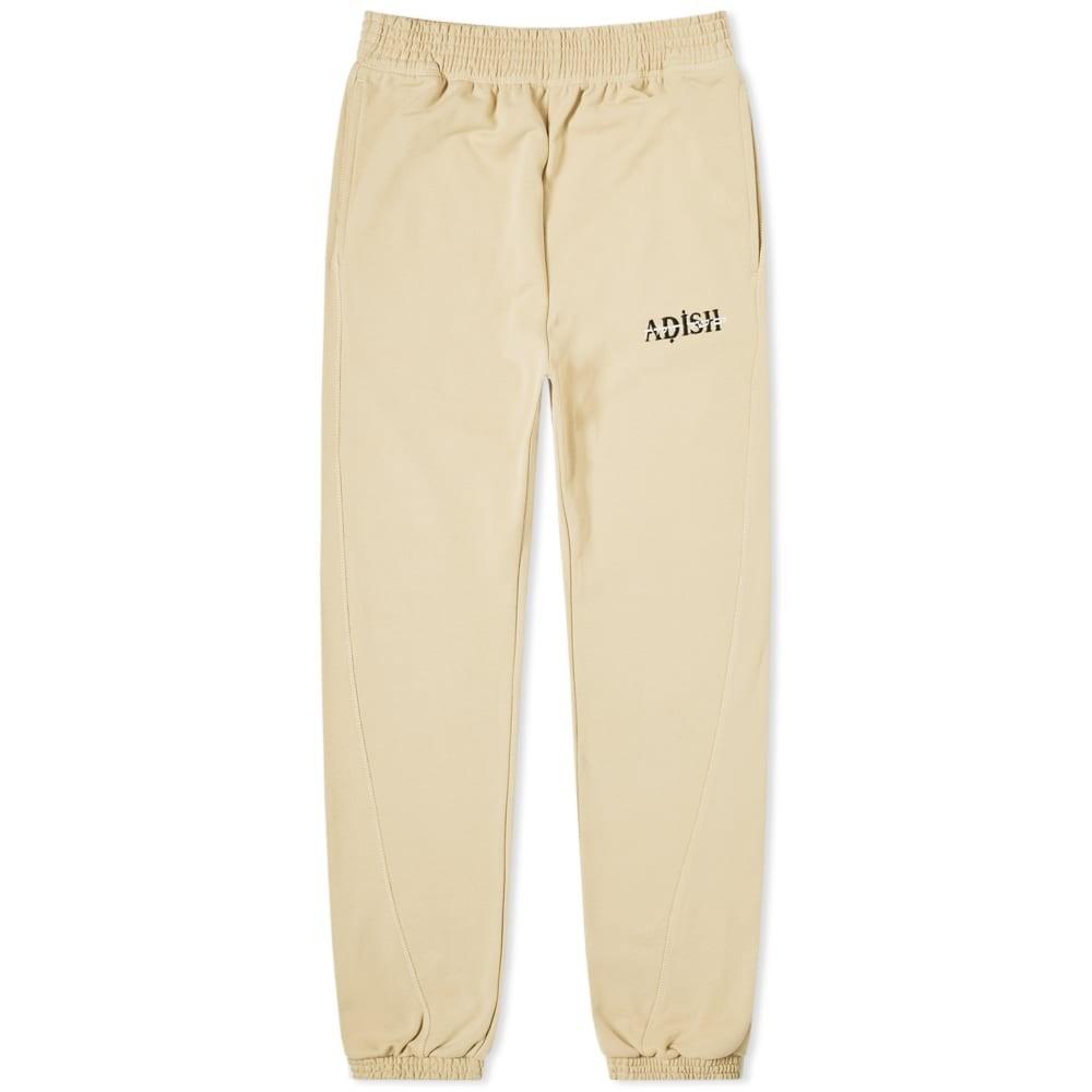 ADISH 砂色 サンド トラック パンツ 【 ADISH SEA OF SAND HEBREW TRACK PANT BEIGE 】 メンズファッション ズボン パンツ