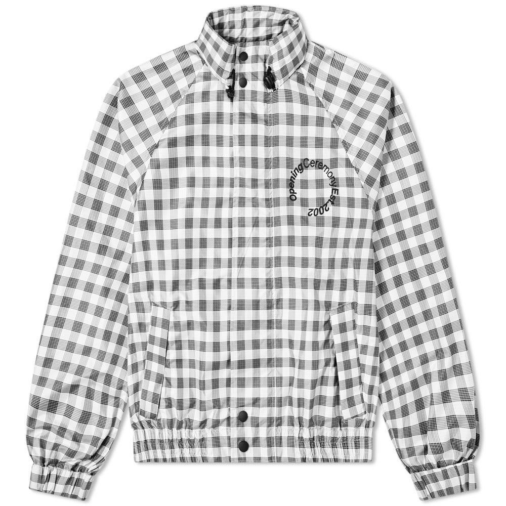 OPENING CEREMONY 【 WIND JACKET BLACK MULTI 】 メンズファッション コート ジャケット 送料無料