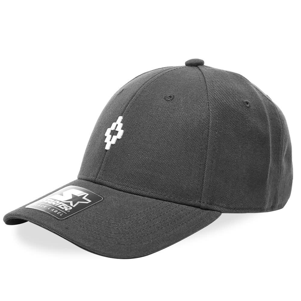 ファッションブランド カジュアル ファッション キャップ ハット MARCELO BURLON 【 CROSS CAP BLACK 】 バッグ キャップ 帽子 メンズキャップ 送料無料