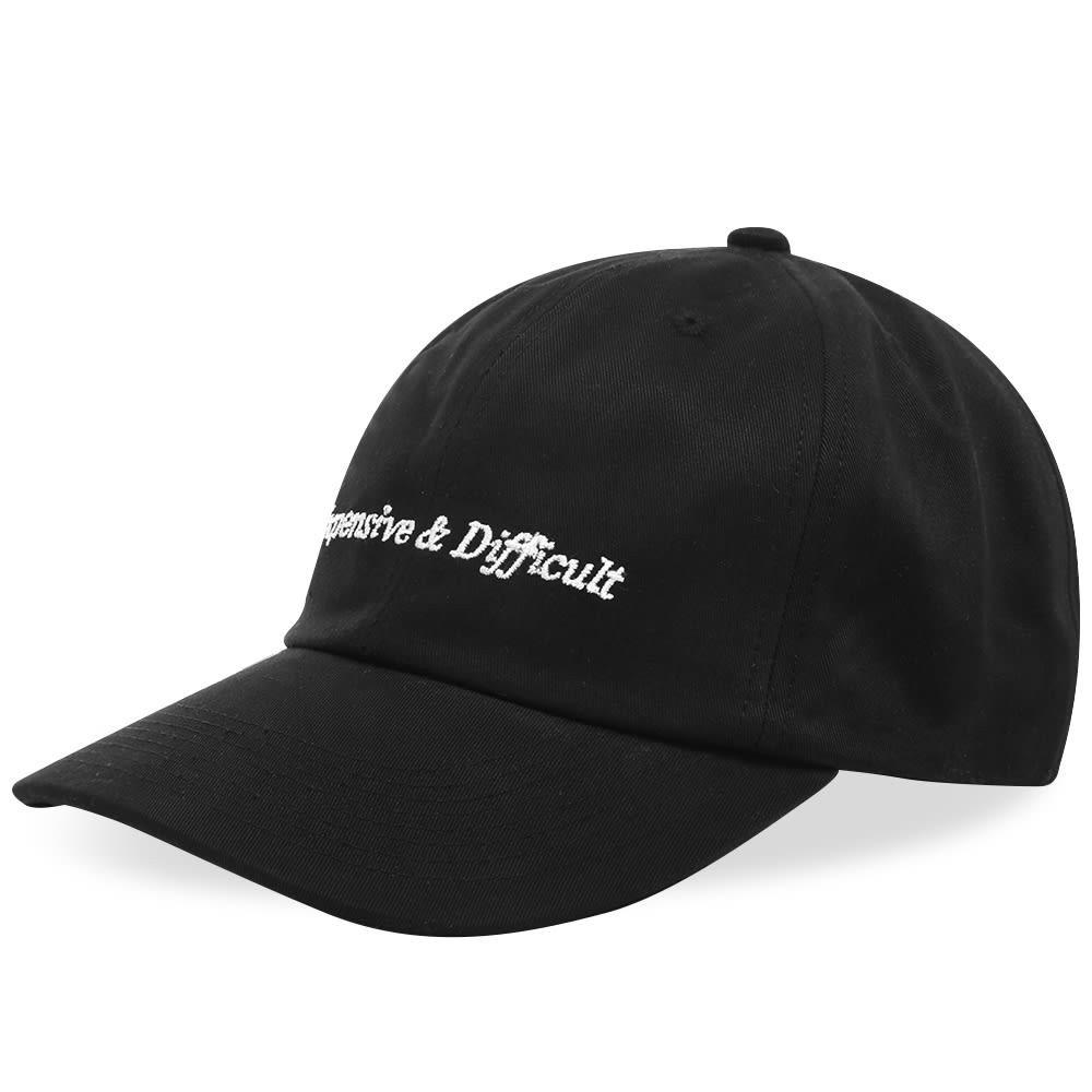 ファッションブランド カジュアル ファッション キャップ ハット NASASEASONS  【 EXPENSIVE DIFFICULT CAP BLACK WHITE 】 バッグ キャップ 帽子 メンズキャップ 送料無料