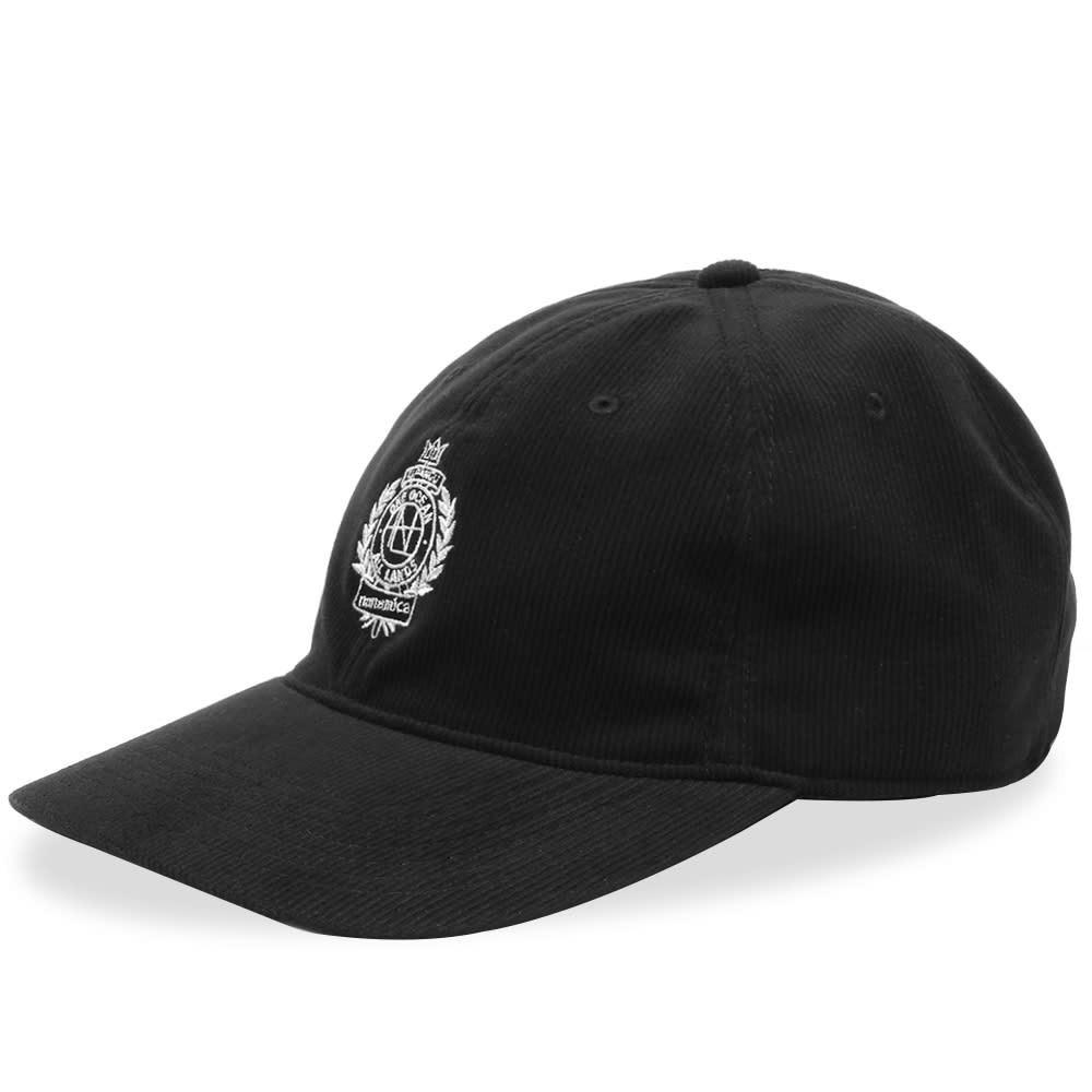 ファッションブランド カジュアル ファッション キャップ ハット NANAMICA コーデュロイ 【 CORDUROY CAP BLACK 】 バッグ キャップ 帽子 メンズキャップ 送料無料