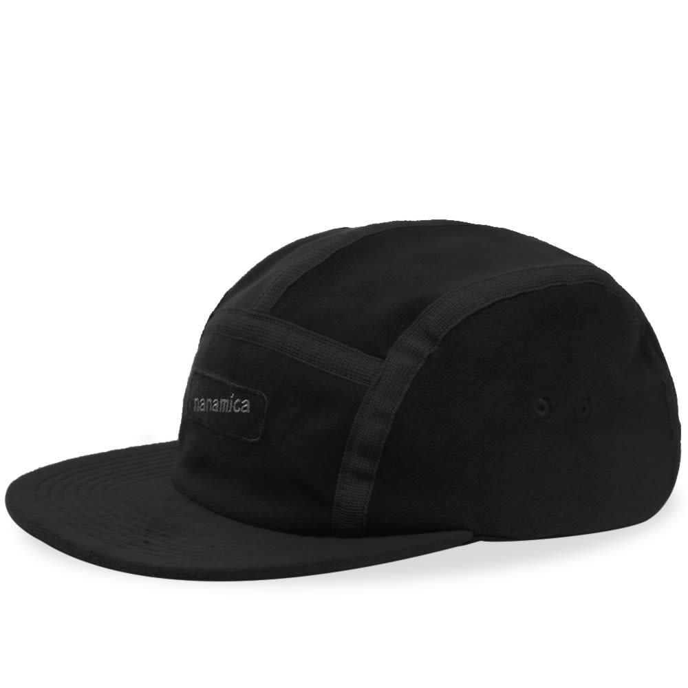 ファッションブランド カジュアル ファッション キャップ ハット NANAMICA フリース 【 FLEECE CAP BLACK 】 バッグ キャップ 帽子 メンズキャップ 送料無料