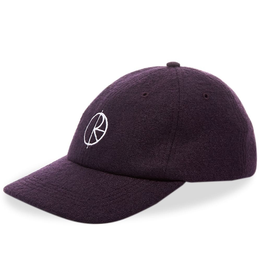 ファッションブランド カジュアル ファッション キャップ ハット POLAR SKATE CO. ポーラー スケート 【 BOILED WOOL CAP PLUM 】 バッグ キャップ 帽子 メンズキャップ 送料無料