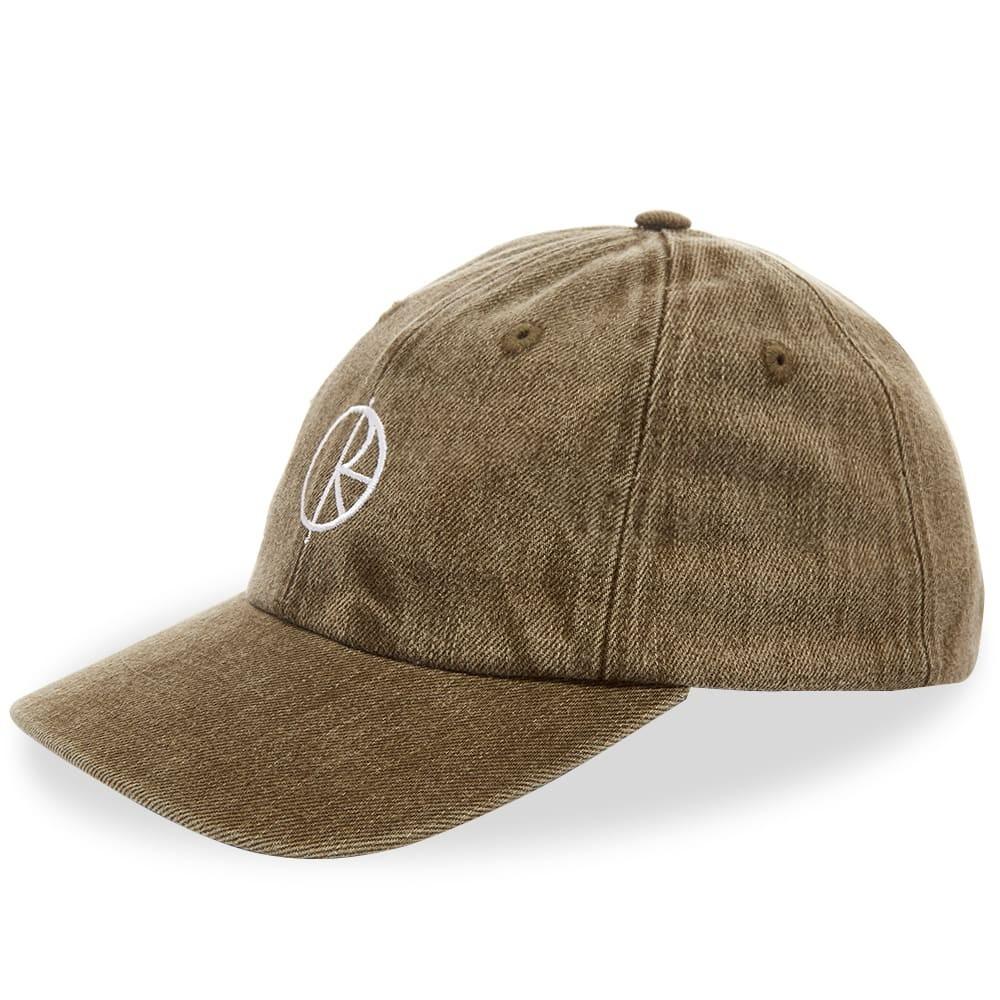 ファッションブランド カジュアル ファッション キャップ ハット POLAR SKATE CO. ポーラー スケート デニム 【 DENIM CAP ARMY GREEN 】 バッグ キャップ 帽子 メンズキャップ 送料無料