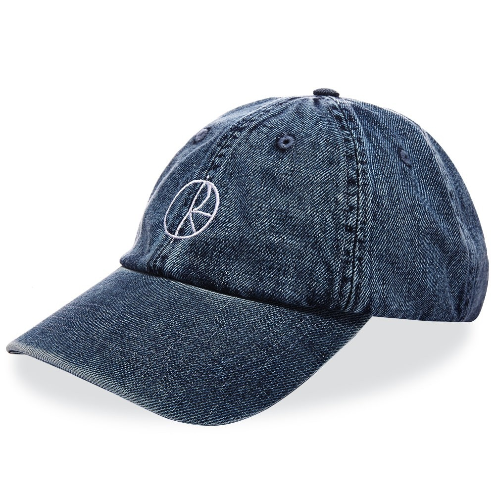 ファッションブランド カジュアル ファッション キャップ ハット POLAR SKATE CO. ポーラー スケート デニム 【 DENIM CAP DARK BLUE 】 バッグ キャップ 帽子 メンズキャップ 送料無料