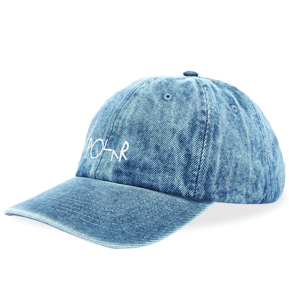 ファッションブランド カジュアル ファッション キャップ ハット POLAR SKATE CO. ポーラー スケート デニム 【 DENIM CAP BLUE ACID 】 バッグ キャップ 帽子 メンズキャップ 送料無料