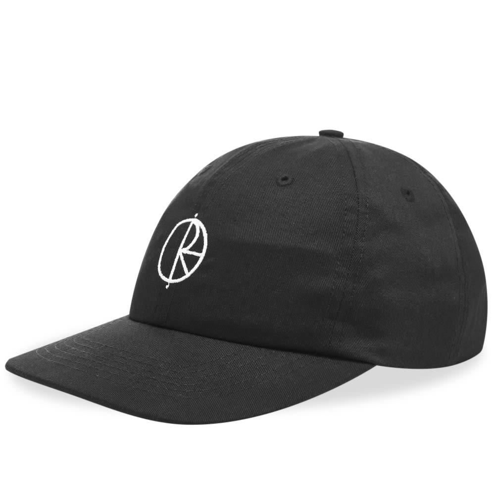 ファッションブランド カジュアル ファッション キャップ ハット POLAR SKATE CO. ポーラー スケート ロゴ 【 STROKE LOGO CAP BLACK 】 バッグ キャップ 帽子 メンズキャップ 送料無料
