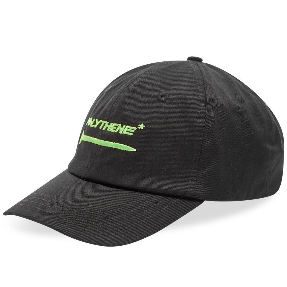 ファッションブランド カジュアル ファッション キャップ ハット POLYTHENE OPTICS ロゴ  【 EMBROIDERED LOGO CAP BACK GREEN 】 バッグ キャップ 帽子 メンズキャップ 送料無料