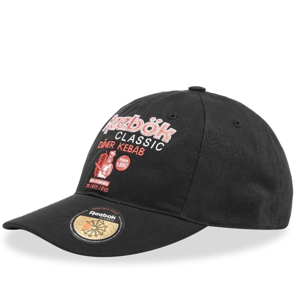 ファッションブランド カジュアル ファッション キャップ ハット リーボック REEBOK 【 DONER CAP BLACK 】 バッグ キャップ 帽子 メンズキャップ 送料無料