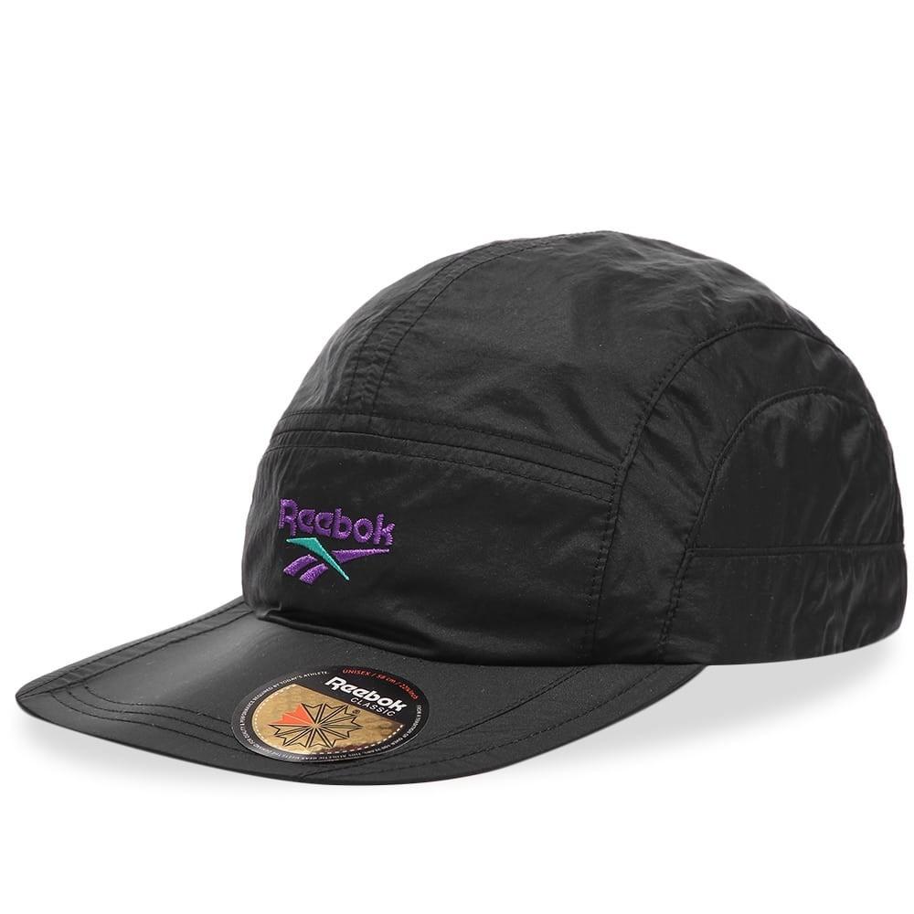 ファッションブランド カジュアル ファッション キャップ ハット リーボック REEBOK クラシック  【 CLASSIC TRAIL CAP BLACK PURPLE 】 バッグ キャップ 帽子 メンズキャップ 送料無料