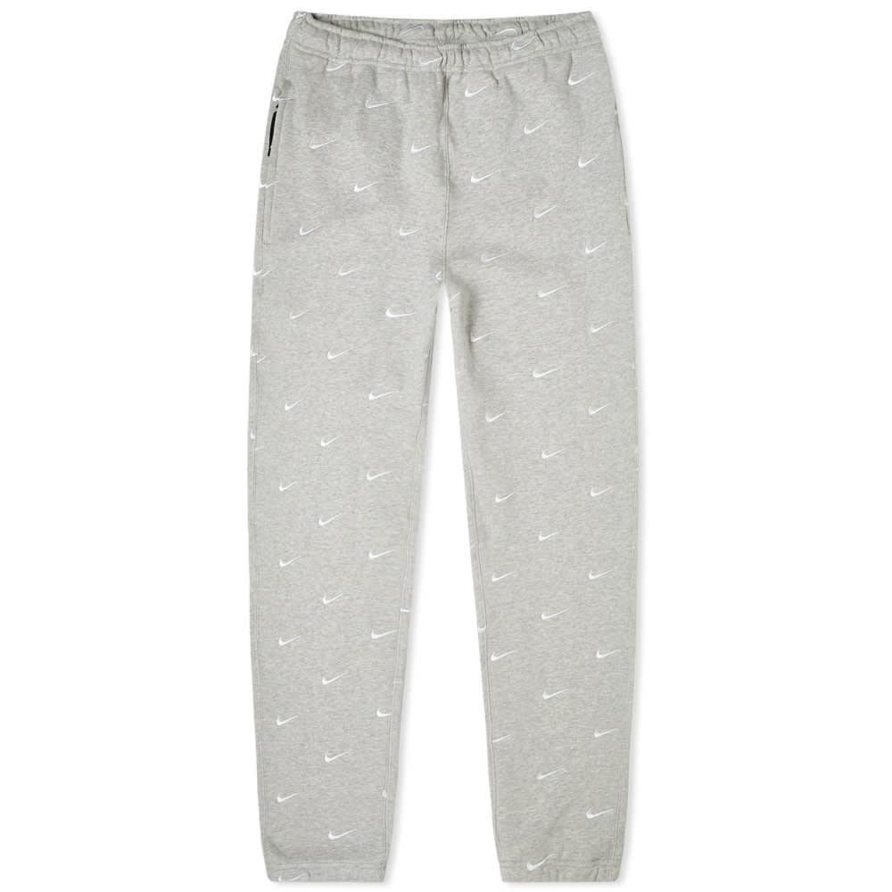 ナイキ NIKE スウッシュ スウォッシュ ロゴ パンツ GRAY灰色 グレイ ヘザー 【 SWOOSH GREY HEATHER NIKE NRG LOGO PANT 】 メンズファッション ズボン パンツ