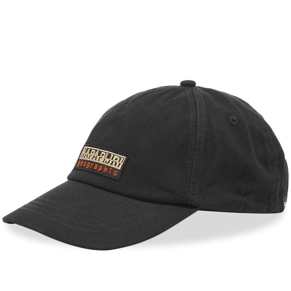 ファッションブランド カジュアル ファッション キャップ ハット NAPAPIJRI ボックス ロゴ 【 FASE BOX LOGO CAP BLACK 】 バッグ キャップ 帽子 メンズキャップ 送料無料