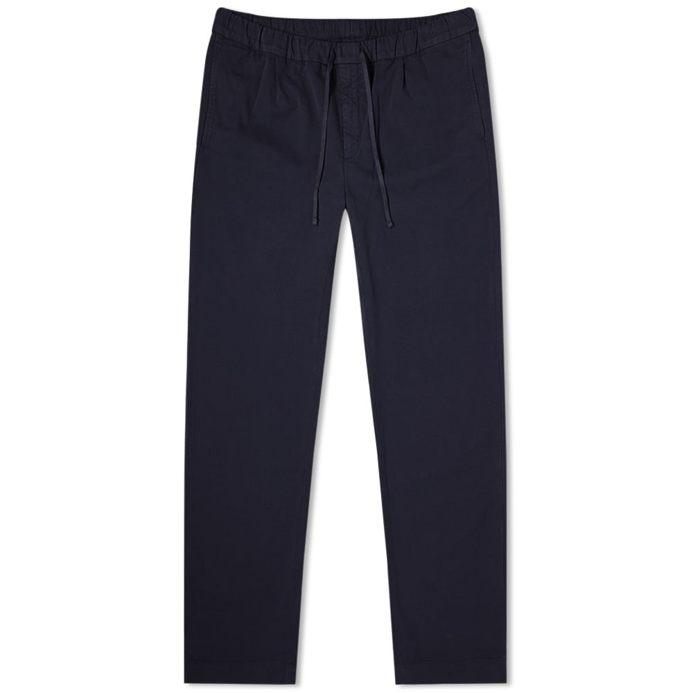 HARTFORD パンツ 紺 ネイビー 【 NAVY HARTFORD TANKER DRAWSTRING PANT 】 メンズファッション ズボン パンツ